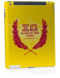 Chi Omega Apple iPad 2 Skin