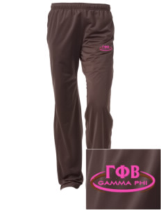 Gamma Phi Beta Embroidered Women's Tricot Track Pants