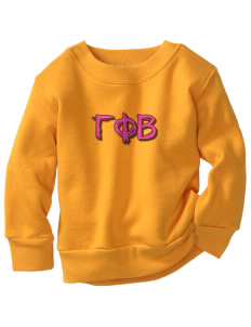 Gamma Phi Beta Toddler Crewneck Sweatshirt