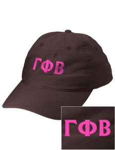 Gamma Phi Beta Embroidered Vintage Adjustable Cap