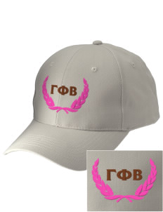 Gamma Phi Beta Embroidered Low-Profile Cap