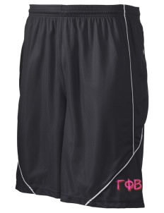 "Gamma Phi Beta Men's Pocicharge Mesh Reversible Short, 9"" Inseam"