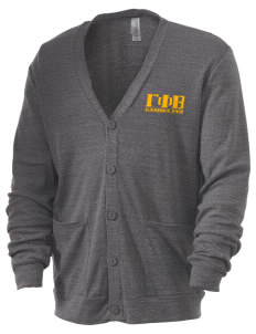 Gamma Phi Beta Men's 5.6 oz Triblend Cardigan