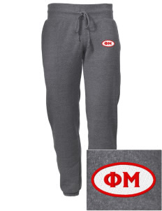 Phi Mu Embroidered Alternative Men's 6.4 oz Costanza Gym Pant