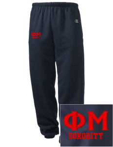 Phi Mu Embroidered Champion Men's Sweatpants