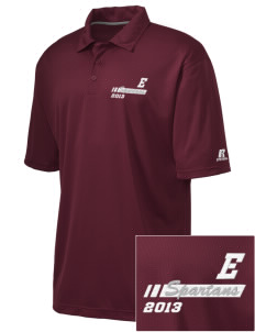 Eufaula Middle School Spartans Embroidered Russell Coaches Core Polo Shirt