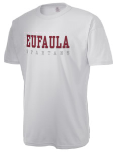 Eufaula Middle School Spartans  Russell Men's NuBlend T-Shirt