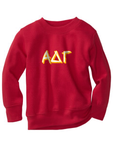 Alpha Delta Gamma Toddler Crewneck Sweatshirt