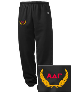 Alpha Delta Gamma Embroidered Champion Men's Sweatpants