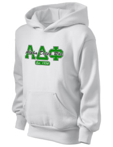 Alpha Delta Phi Kid's Hooded Sweatshirt