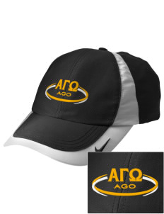 Alpha Gamma Omega Embroidered Nike Golf Colorblock Cap