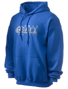 Alpha Gamma Sigma Ultra Blend 50/50 Hooded Sweatshirt