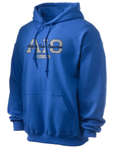 Alpha Iota Omicron Ultra Blend 50/50 Hooded Sweatshirt