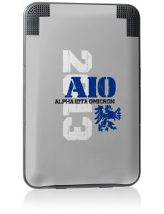 Alpha Iota Omicron Kindle Keyboard 3G Skin