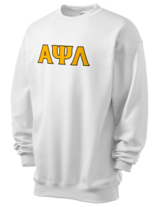 Alpha Psi Lambda Men's 7.8 oz Lightweight Crewneck Sweatshirt