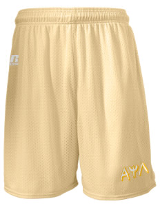 "Alpha Psi Lambda  Russell Men's Mesh Shorts, 7"" Inseam"