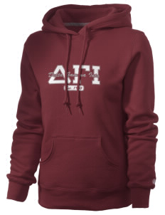 Delta Gamma Iota Russell Women's Pro Cotton Fleece Hooded Sweatshirt