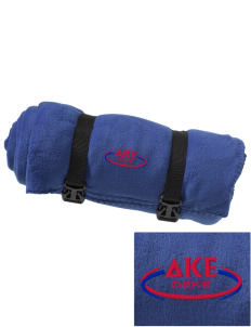 Delta Kappa Epsilon Embroidered Fleece Blanket with Strap