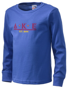 Delta Kappa Epsilon  Kid's Long Sleeve T-Shirt