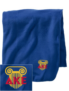 Delta Kappa Epsilon Embroidered Holloway Stadium Fleece Blanket
