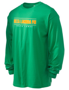 Delta Lambda Phi 6.1 oz Ultra Cotton Long-Sleeve T-Shirt