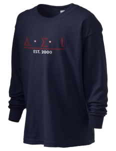 Delta Sigma Iota Kid's 6.1 oz Long Sleeve Ultra Cotton T-Shirt