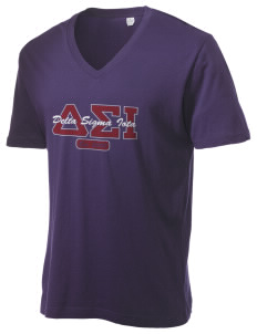 Delta Sigma Iota Alternative Men's 3.7 oz Basic V-Neck T-Shirt