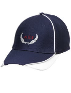 Delta Sigma Iota Embroidered New Era Contrast Piped Performance Cap