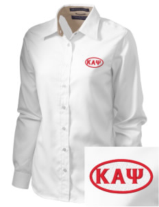 Kappa Alpha Psi  Embroidered Women's Pima Advantage Twill