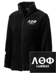 Lambda Theta Phi Embroidered Women's Wintercept Fleece Full-Zip Jacket