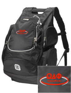 Omega Delta Phi  Embroidered OGIO Bounty Hunter Backpack