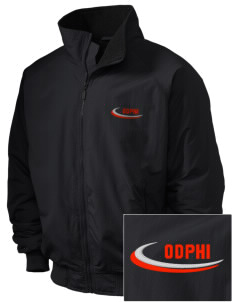 Omega Delta Phi Embroidered Holloway Men's Tall Jacket
