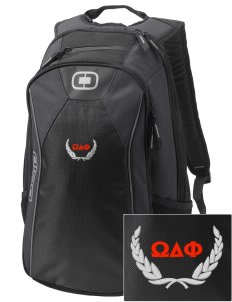 Omega Delta Phi Embroidered OGIO Marshall Backpack