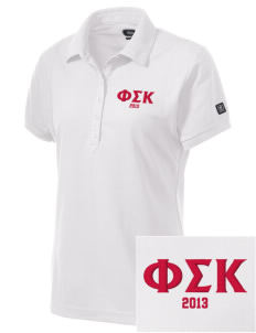 Phi Sigma Kappa Embroidered OGIO Women's Jewel Polo