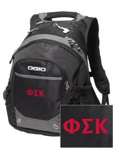 Phi Sigma Kappa Embroidered OGIO Fugitive Backpack