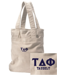 Tau Delta Phi Embroidered Alternative The Berkeley Tote