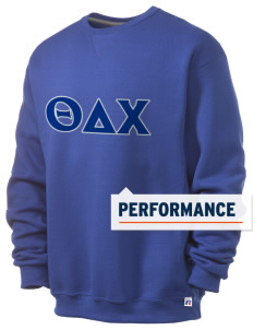 Theta Delta Chi  Russell Men's Dri-Power Crewneck Sweatshirt