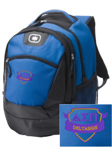 Delta Sigma Pi Embroidered OGIO Rogue Backpack