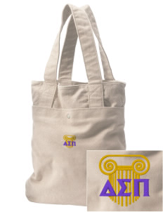 Delta Sigma Pi Embroidered Alternative The Berkeley Tote