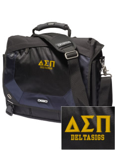 Delta Sigma Pi Embroidered OGIO Jack Pack Messenger Bag