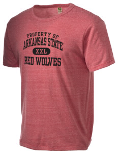 Arkansas State University Red Wolves Alternative Men's Eco Heather T-shirt