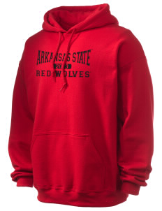 Arkansas State University Red Wolves Ultra Blend 50/50 Hooded Sweatshirt