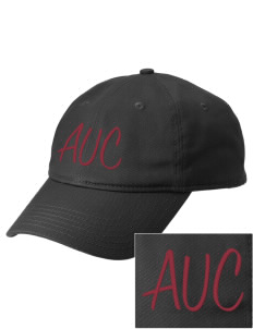 Atlantic Union College Flames  Embroidered New Era Adjustable Unstructured Cap
