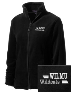 Wilmington University Wildcats Embroidered Women's Wintercept Fleece Full-Zip Jacket