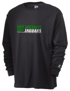 East Arkansas Community College Jaguars  Russell Men's Long Sleeve T-Shirt