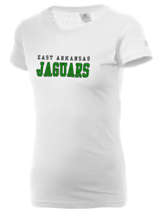 East Arkansas Community College Jaguars  Russell Women's Campus T-Shirt