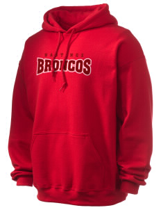 Hastings College Broncos Ultra Blend 50/50 Hooded Sweatshirt
