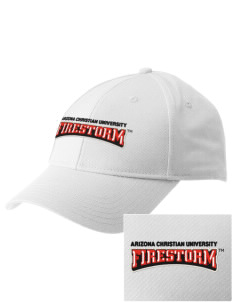 Arizona Christian University Firestorm  Embroidered New Era Adjustable Structured Cap