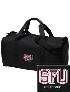 Saint Francis University Red Flash Embroidered Holloway Duffel Bag