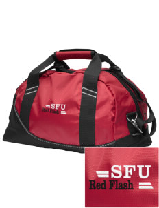 Saint Francis University Red Flash Embroidered OGIO Half Dome Duffel